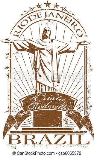 Rio de Janeiro stamp - csp6065372