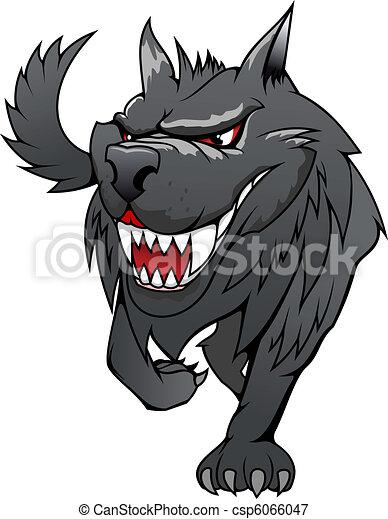 Danger wolf - csp6066047