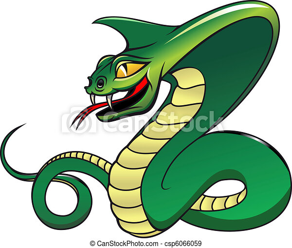 Danger green cobra - csp6066059