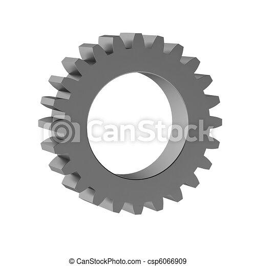 3d render of gear - csp6066909