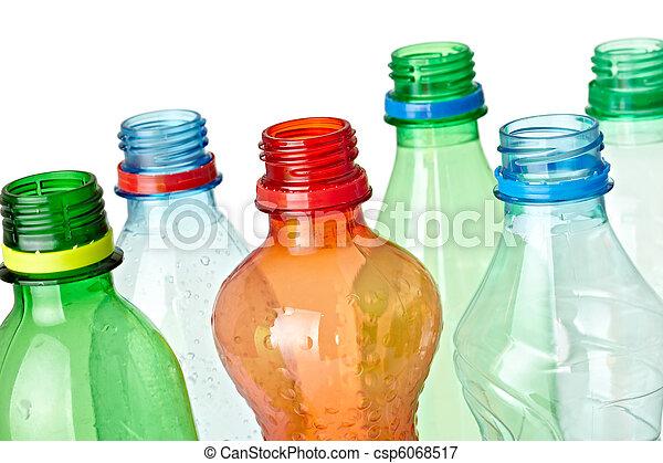 empty used trash bottle ecology environment - csp6068517