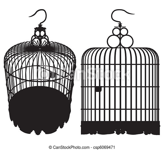 Bird Cage - csp6069471