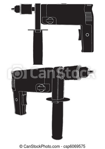 Power Drill  - csp6069575