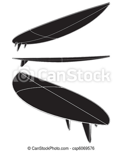 Surf Board  - csp6069576
