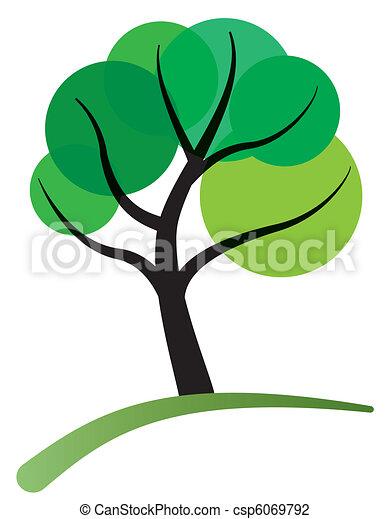 tree green foliage - csp6069792