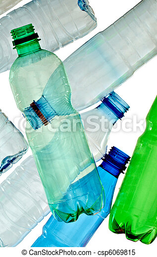 empty used trash bottle ecology environment - csp6069815