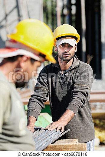 Construction workers - csp6070116