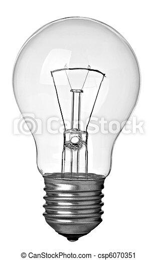 light bulb electricity idea - csp6070351
