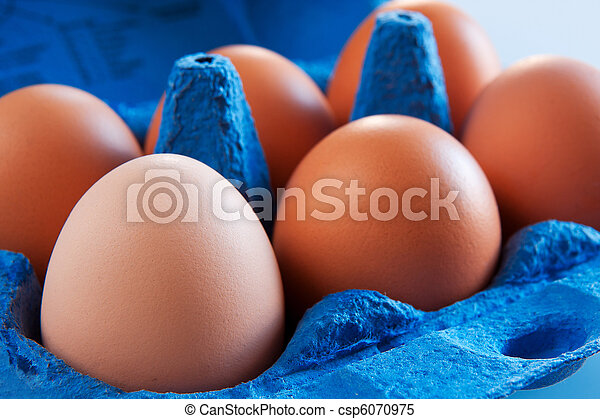 Eggs in carton - csp6070975