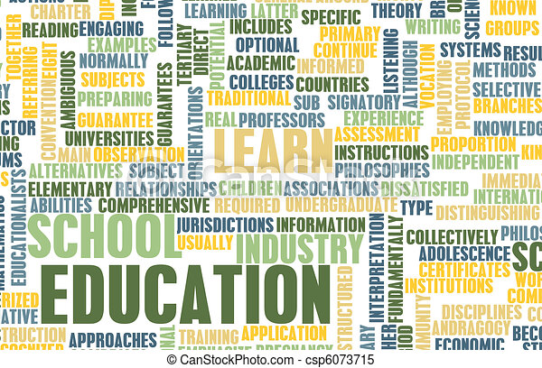 Education Sector - csp6073715