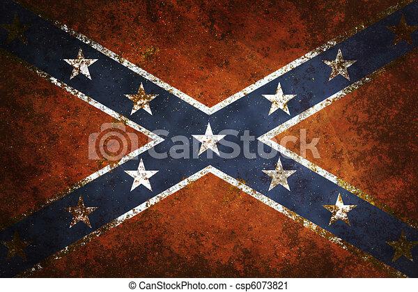 Vintage Confederate Flag - csp6073821
