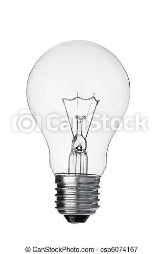 Vertical light bulb - csp6074167