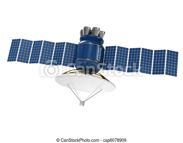 Model of an artificial satellite. - csp6078909