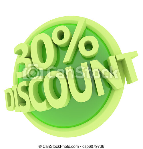 discount button - csp6079736