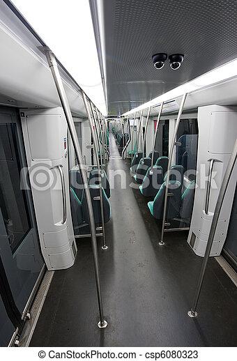 Empty subway - csp6080323
