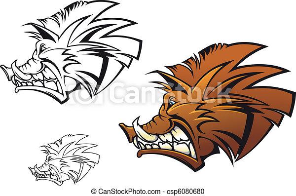 Wild boar - csp6080680