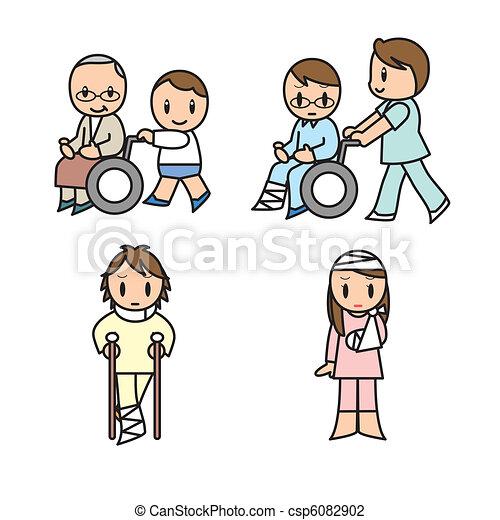 Hospital set - csp6082902