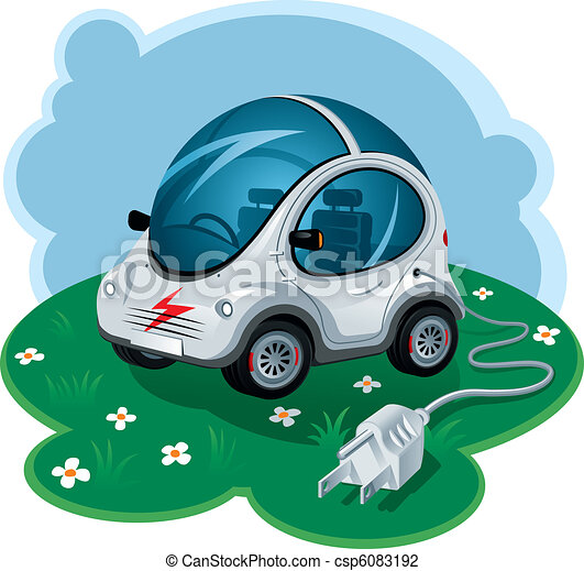 Electric Car - csp6083192