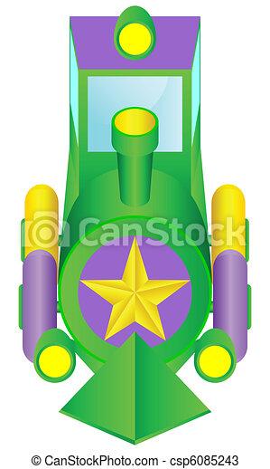 Children's locomotive. - csp6085243
