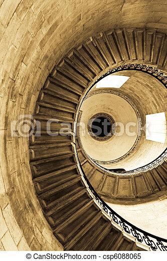 Spiral sepia - csp6088065