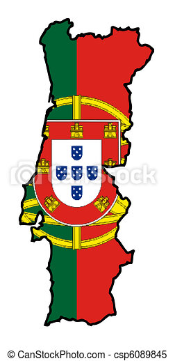 Illustrations de carte drapeau portugal illustration de les portugal csp6089845 - Dessin du portugal ...