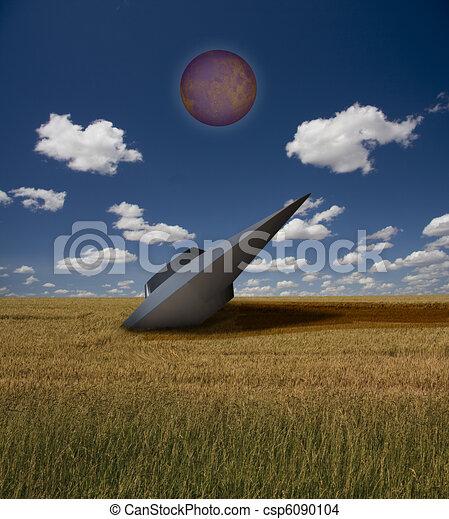 UFO Crashed - csp6090104