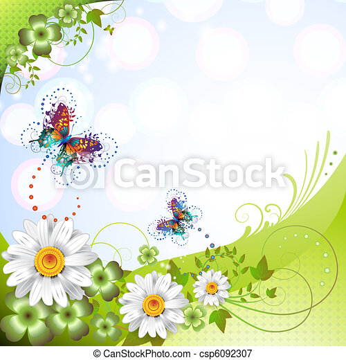 Springtime background - csp6092307