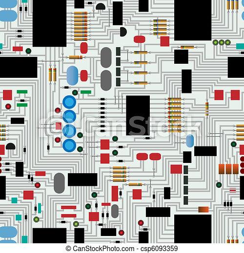 Circuit  board - csp6093359