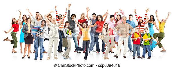 Happy people - csp6094016