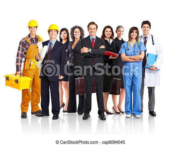business people - csp6094045