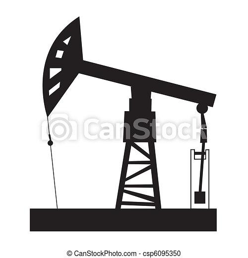 Oil rig - csp6095350