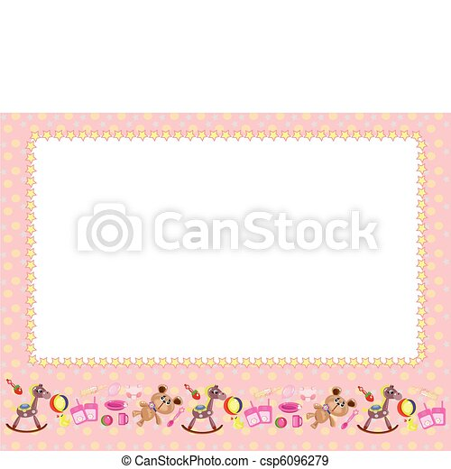 Children frame - csp6096279