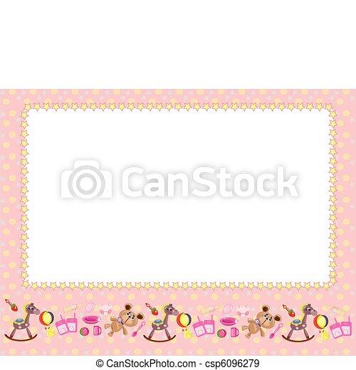 Children frame - csp6096279