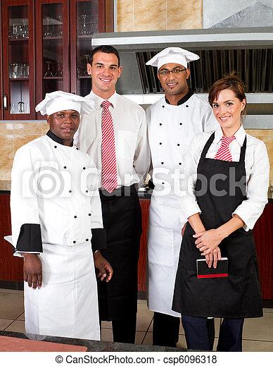 restaurant staff - csp6096318