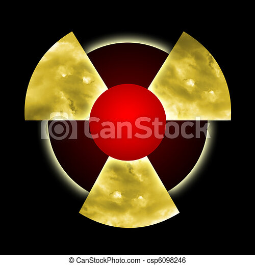 Radioactive Pollution - csp6098246