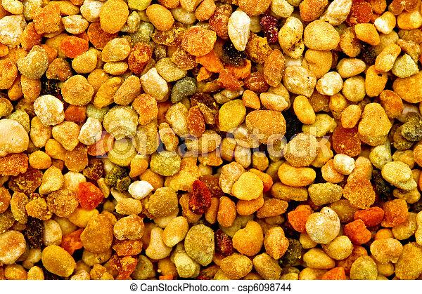 Bee pollen macro - csp6098744