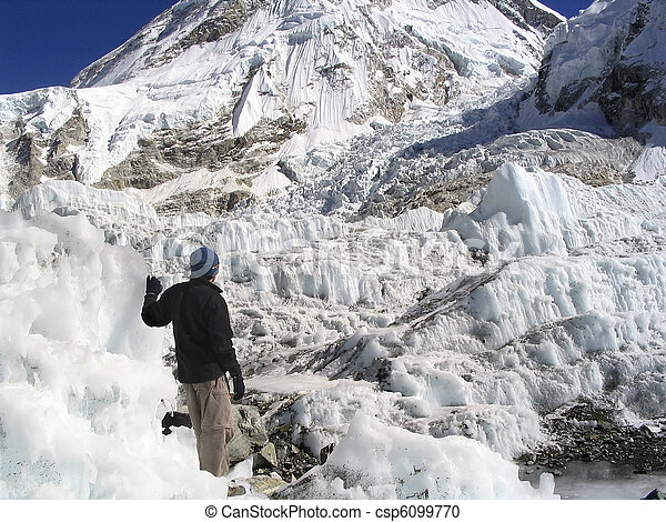 Mt Everest Base Camp - csp6099770