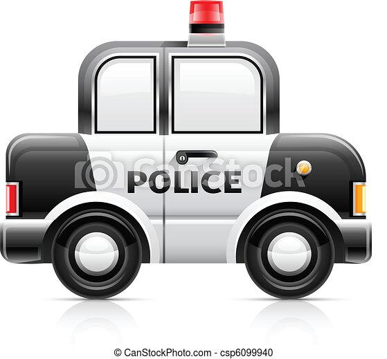 police car - csp6099940