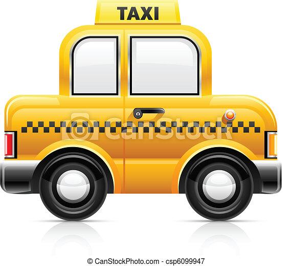 taxi car - csp6099947
