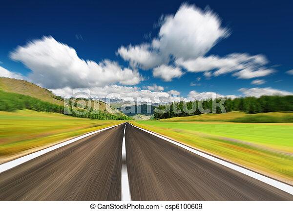 Road - csp6100609