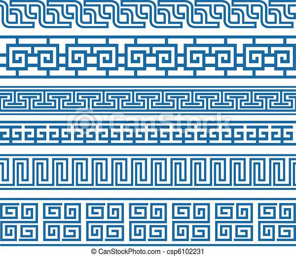 classic decorative border element - csp6102231
