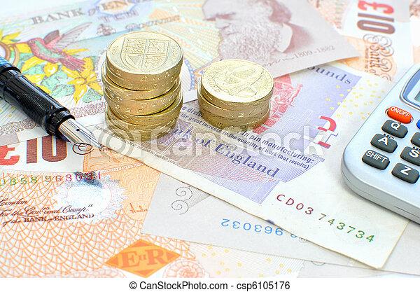 Personal finances - csp6105176