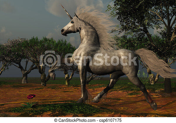 UNICORN FOREST - csp6107175