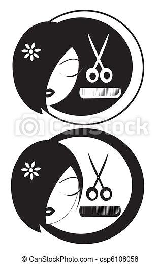 Hairdressing  - csp6108058