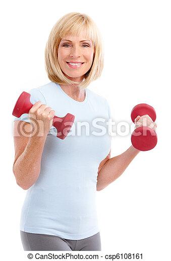 Gym & Fitness - csp6108161
