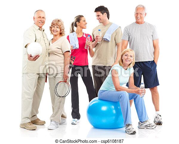 Gym & Fitness - csp6108187