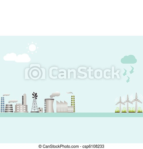 Industry and clean energy - csp6108233