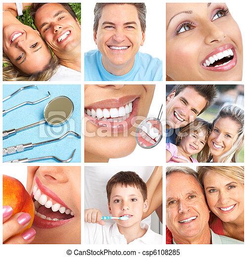 變白, 牙齒 - csp6108285