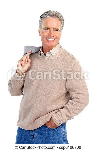 Elderly man - csp6108700