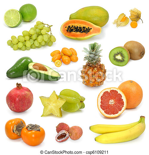 exotic fruits collection - csp6109211
